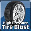 High Pressure Tire Blast